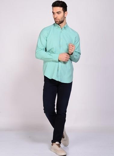 Limon Company Uzun Kollu Gömlek Yeşil